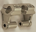 "Dual Sport Pivoting Risers for 7/8"" (22mm) Bars - Buell Incl."