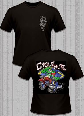 Cyclenutz T-Shirt