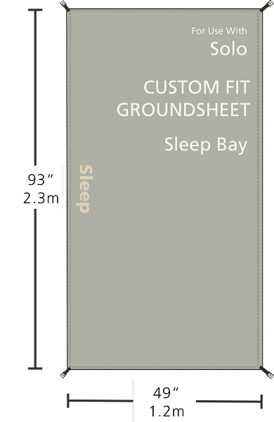 Redverz Solo Groundsheet - Sleeping Bay