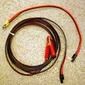 2-Piece Motorcycle Jumper Cables