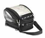 Givi T437N 27-38 Lt GOLD TANKBAG BLACK