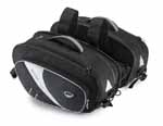 Givi T469 SILVER SMALL SADDLEBAGS