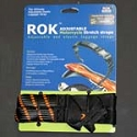 Rok Strap Adjustable Twin Pack - Black-Orange