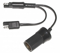 SAE To Cigarette Socket - SAE Y Cable PAC-026