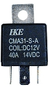 40A 4 PIN BOSCH Type Relay - SPST