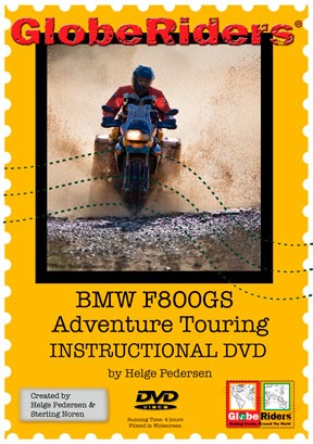 Globeriders  BMW F800GS Instructional DVD